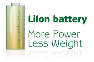 LiIon battery for more power and less weight
