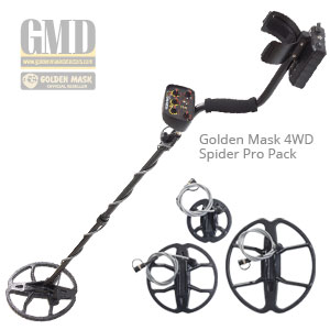 Golden Mask 4WD Spider Pro Pack - 4WD professional set with 3 coils