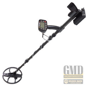 Golden Mask 5 LITE metal detector, dual-frequency treasure finder without wireless headphones