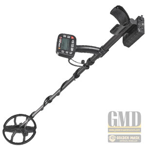 Golden Mask 5+ SE metal detector, better depth dual-frequency treasure finder and coin shooter