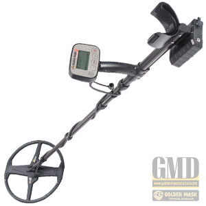 Golden Mask 6 LITE triple-frequency VLF metal detector at budget price